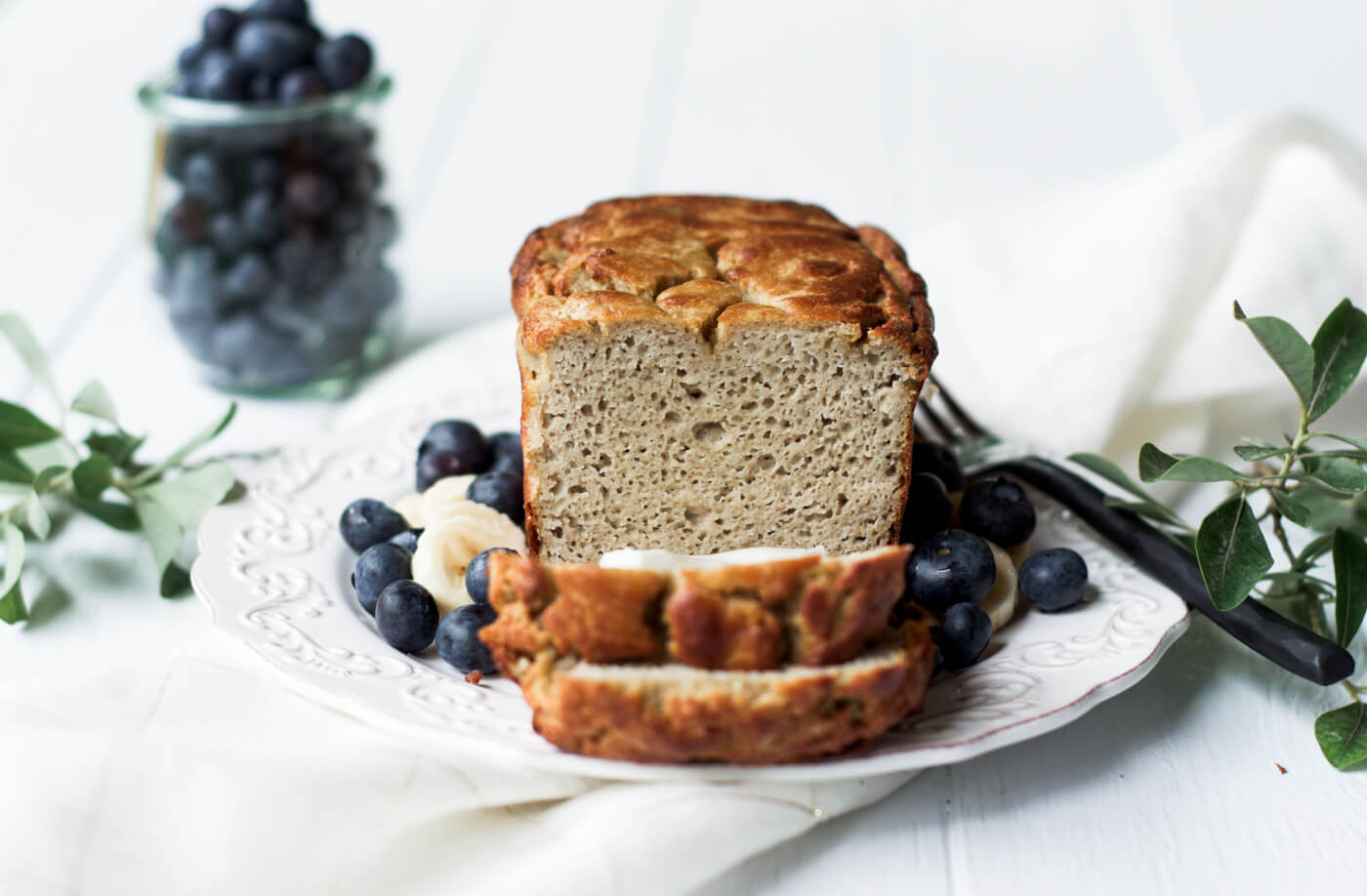 5 minute paleo banana bread paleo gluten free eats this grain free paleo banana bread is incredibly easy to make and its made in forumfinder Images