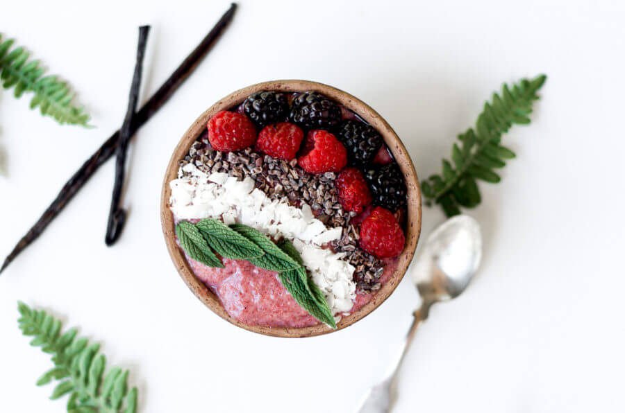 Paleo Vegan Breakfast Chia Pudding