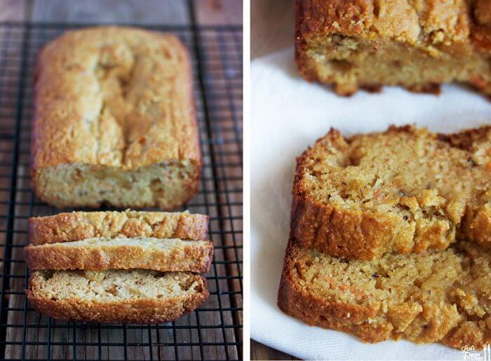paleo Carrot Cake loaf. Best Grain free bread recipes! Paleo french bread. Easy to make sandwich bread. Delicious healthy bread recipes for all your cravings!
