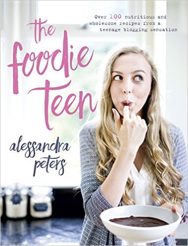 Foodie Teen Interview with Alessandra, a 17 year old cookbook author, healthy food advocate, salad lover, and the face behind The Foodie Teen.