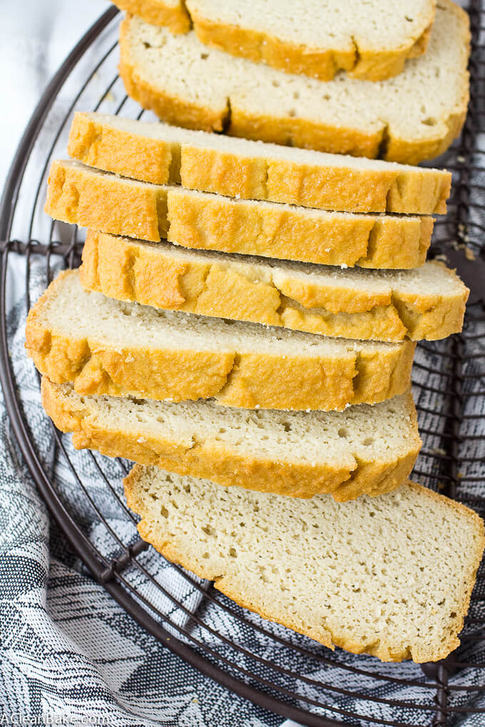 Low carb Paleo Sandwich bread Best Grain free bread recipes! Paleo french bread. Easy to make sandwich bread. Delicious healthy bread recipes for all your cravings!
