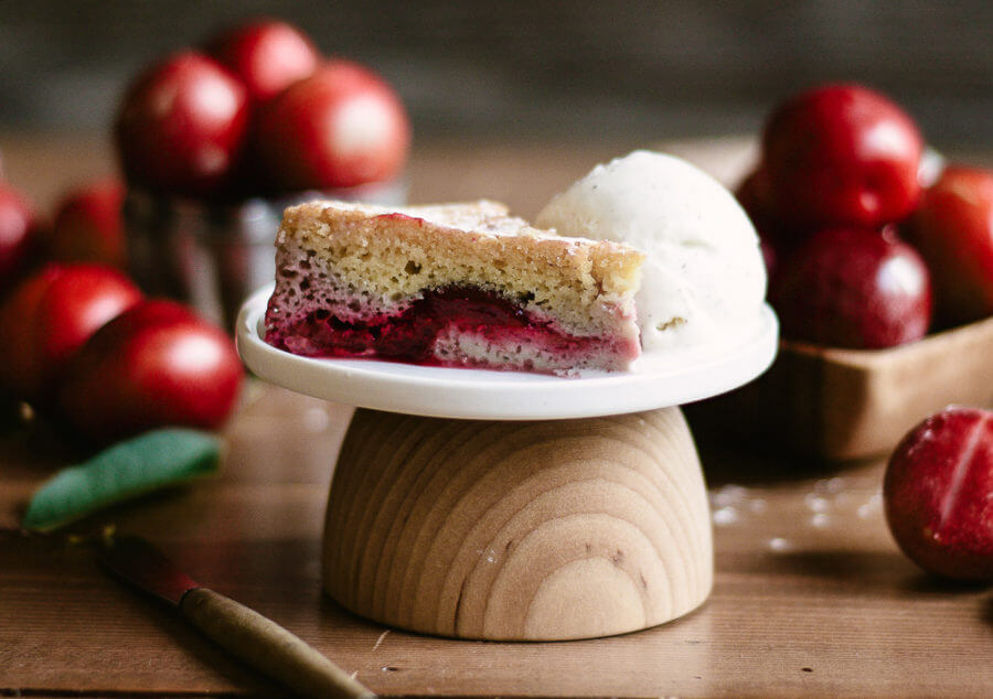 Paleo Gluten Free Plum Cake