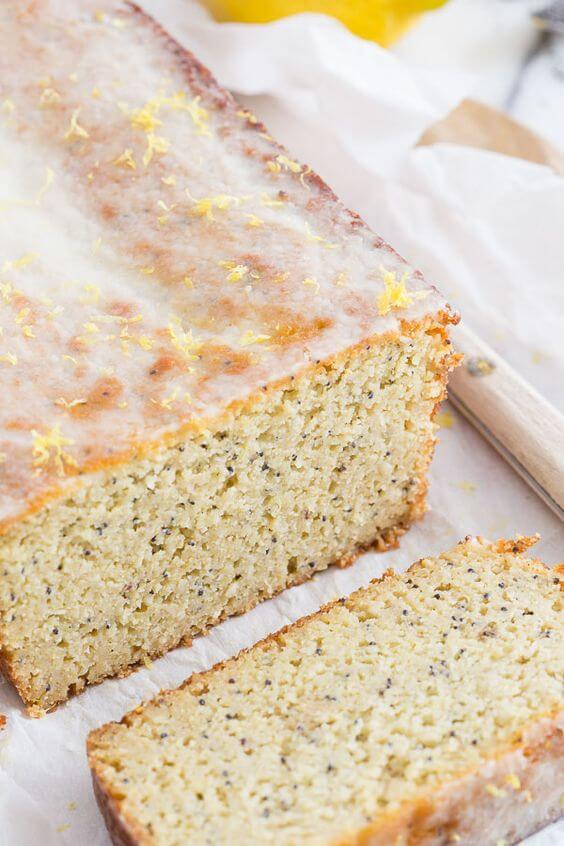 Paleo Lemon Zucchini bread loaf. Best Grain free bread recipes! Paleo french bread. Easy to make sandwich bread. Delicious healthy bread recipes for all your cravings!