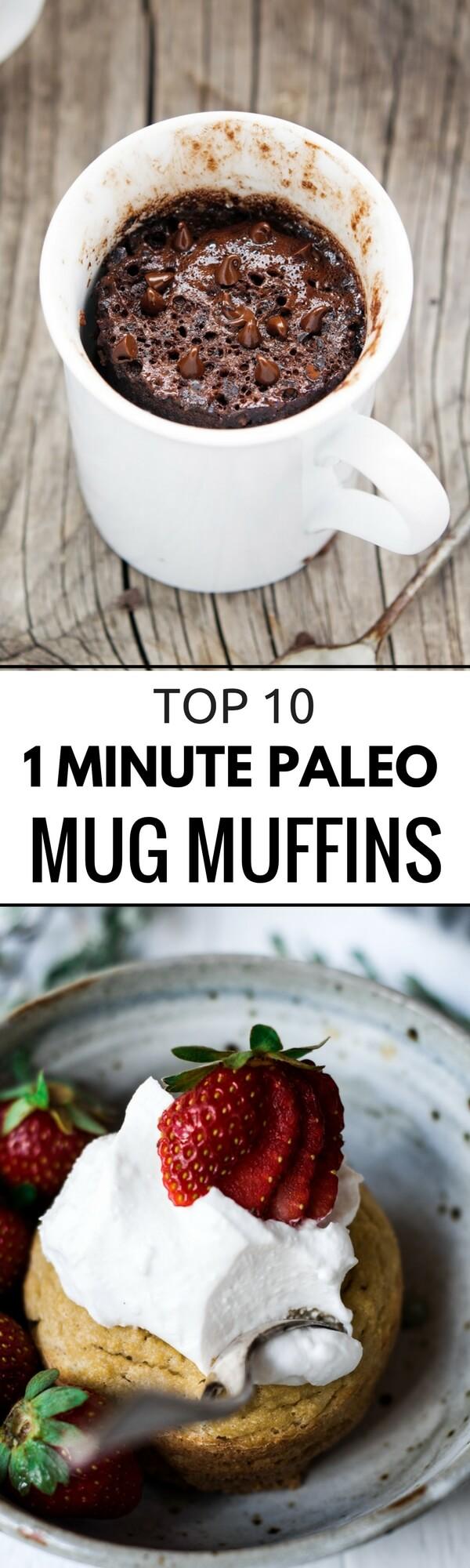 TOP 10 PALEO MUG MUFFINS - Paleo Gluten Free Eats