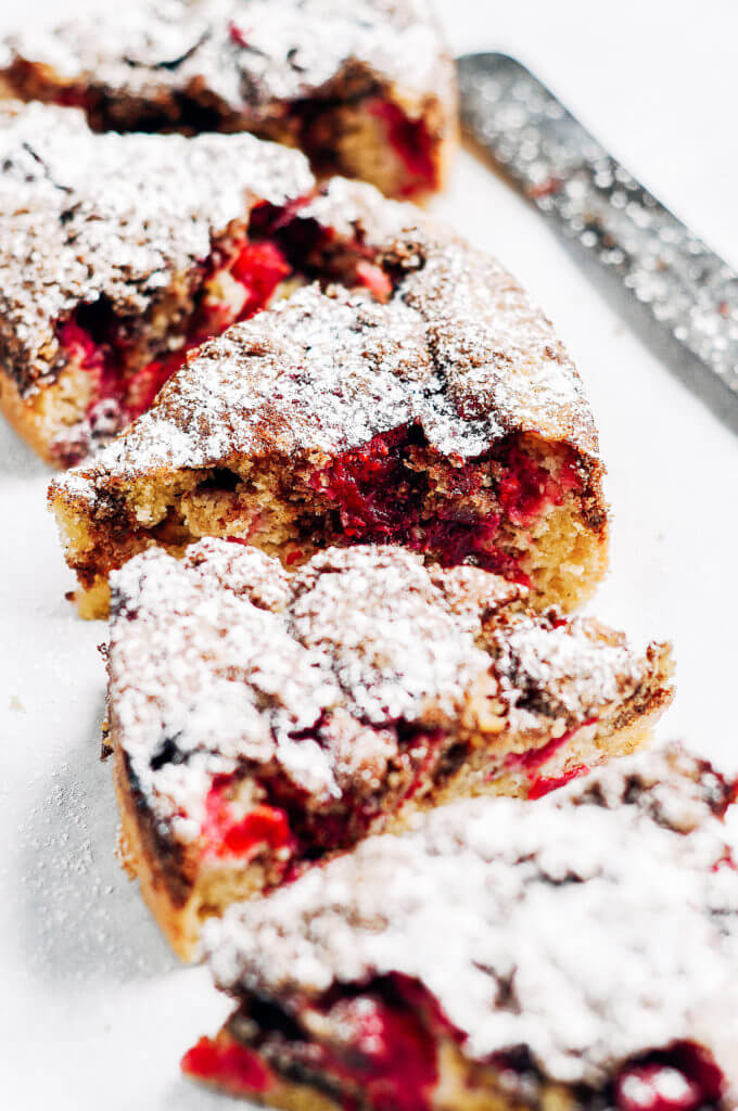 Cranberry Coffee Cake Recipe With Fresh Cranberries