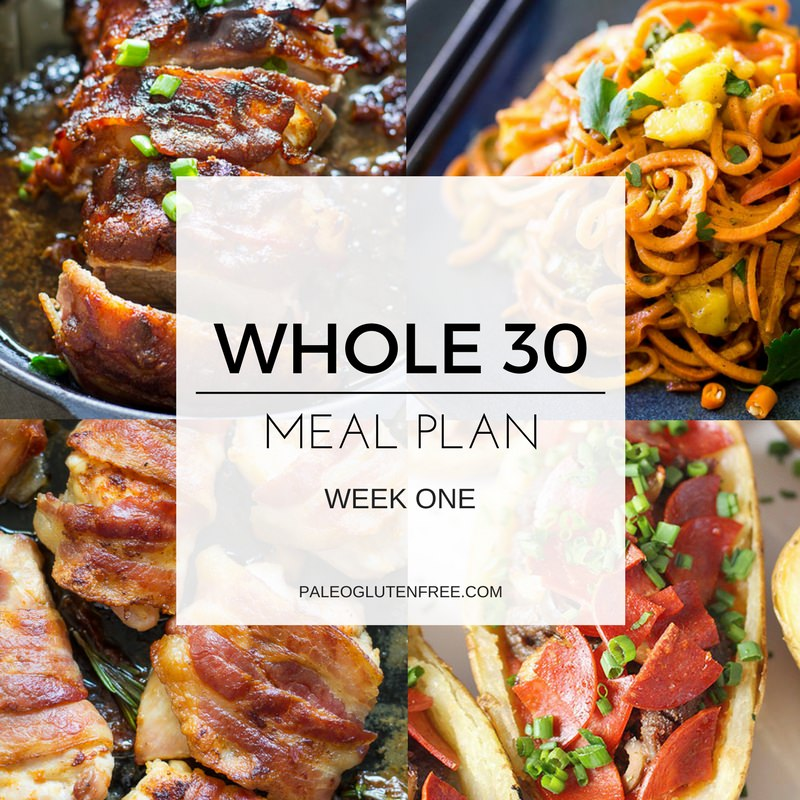 Easy whole 30 meal plan paleo gluten free eats easy whole 30 meal plan forumfinder Image collections