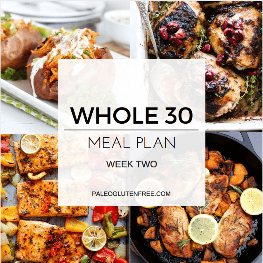 Complete Whole 30 Meal Plan