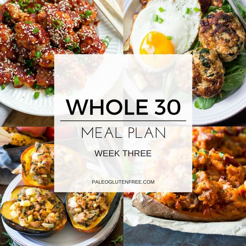 Best Whole 30 Menu Plan