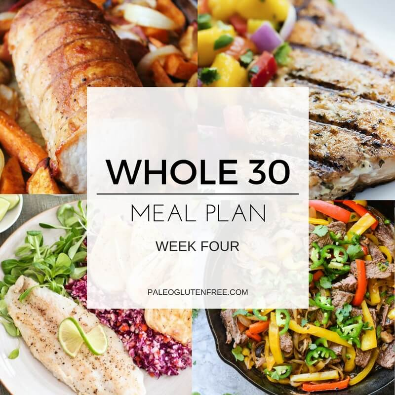 Whole 30 Meal Plan for 30 Days!