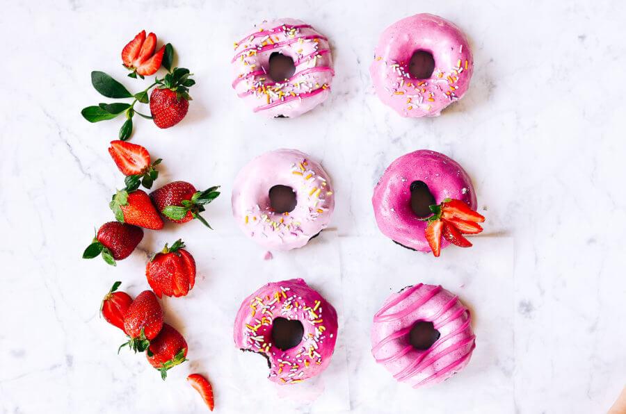 Easy Paleo Coconut Flour Chocolate Donuts