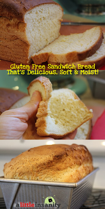 There IS life after wheat! Best soft and fluffy gluten free sandwich bread. Toastable. Light and fluffy. Easy gluten free bread recipes. best paleo sandwich bread recipes. Easy paleo bread recipes.