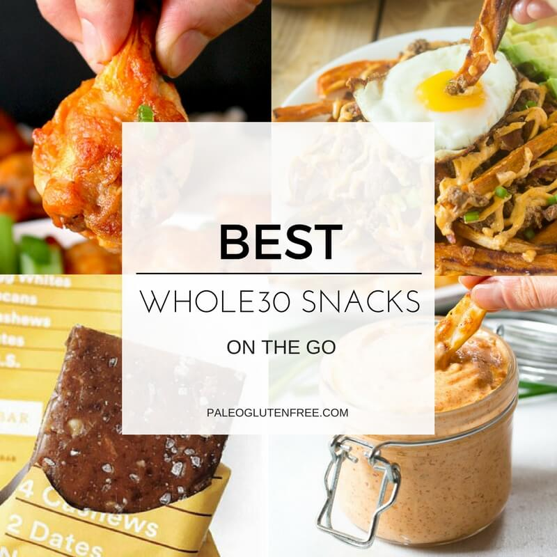 Best Whole30 Snack List