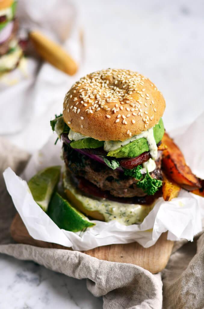 basil burger sauce