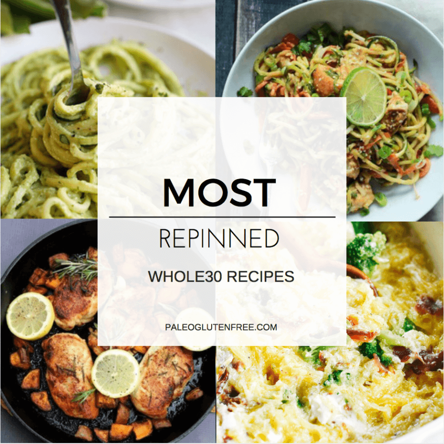 Most Repinned Healthy Whole30 Recipes
