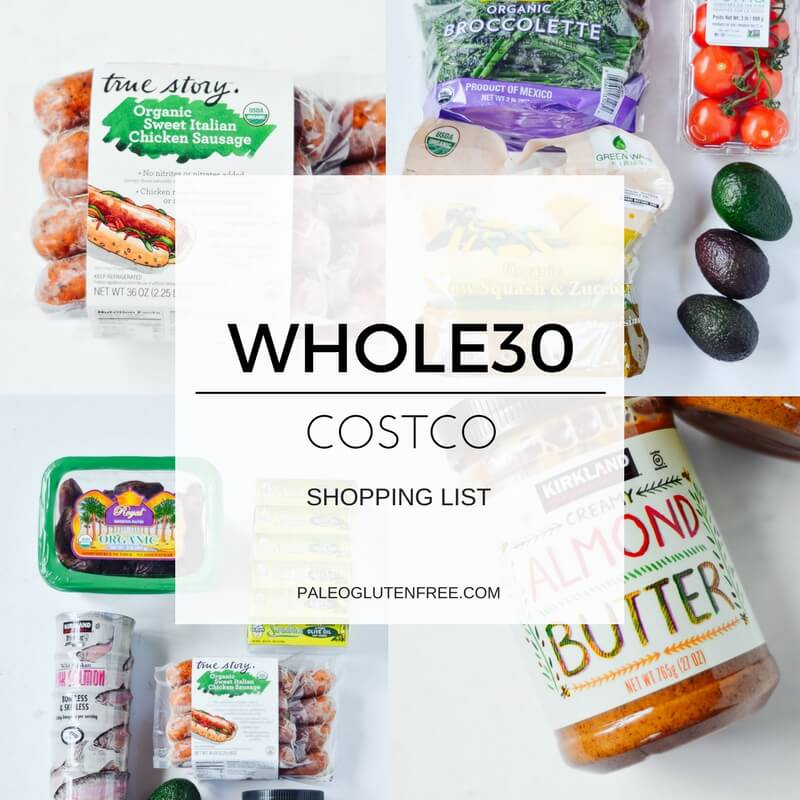 Best Whole30 Costco Shopping List