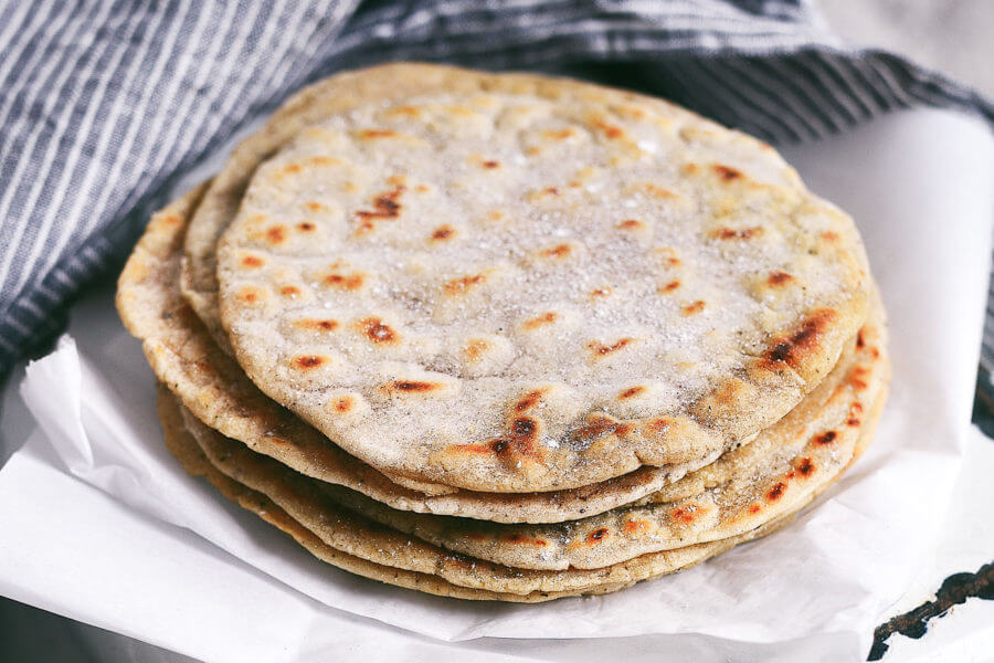 Best Ever 5 Minute Cassava Flour Tortillas