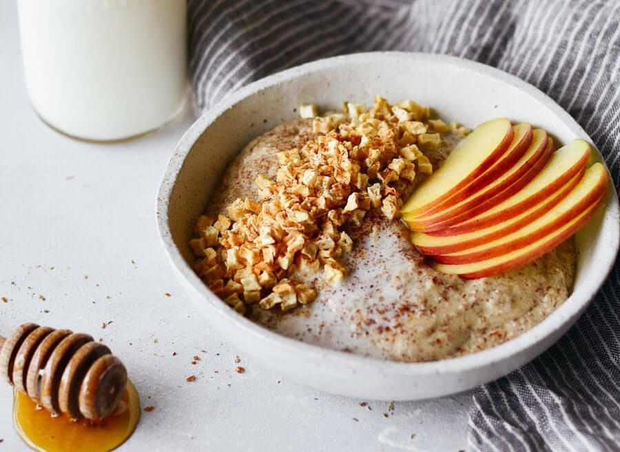 Instant Paleo Apple Cinnamon Hot Cereal