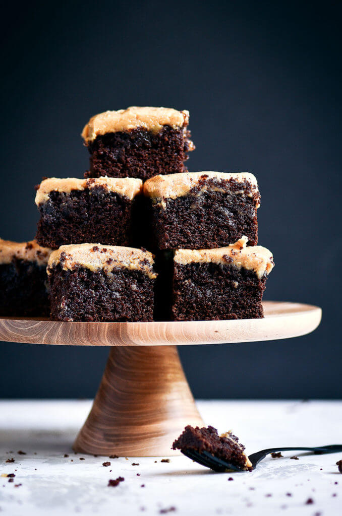 Best Coconut Flour Brownies and Peanut Butter Frosting ...