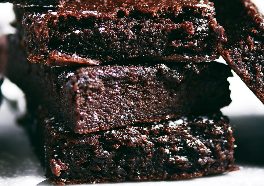 Fudgey Paleo Applesauce Brownies