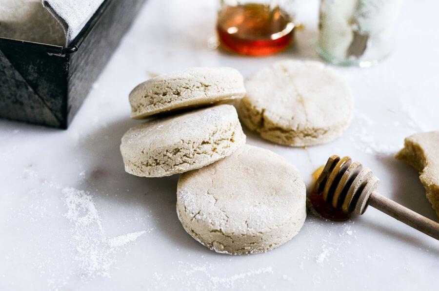 Nut Free Paleo Cassava Flour Biscuits
