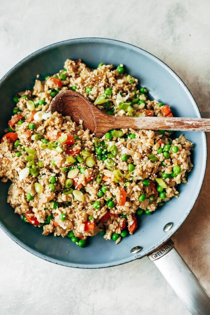 Whole30 Fried Cauliflower Rice Paleo Gluten Free Eats