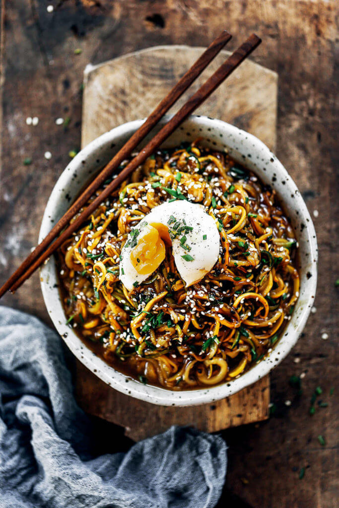 192 calorie whole30 balsamic glazed asian zucchini noodles! Super easy whole30 and paleo meal. A healthy dinner recipe for the whole family! Kid friendly noodles with a tempting asian sauce. whole30 meal plan. Easy whole30 dinner recipes. Easy whole30 dinner recipes. Whole30 recipes. Whole30 lunch. Whole30 meal planning. Whole30 meal prep. Healthy paleo meals. Healthy Whole30 recipes. Easy Whole30 recipes. Easy whole30 dinner recipes. Zucchini noodle recipe. Best veggie noodle recipes. paleo dinner recipes. best asian noodles. easy asian noodles.
