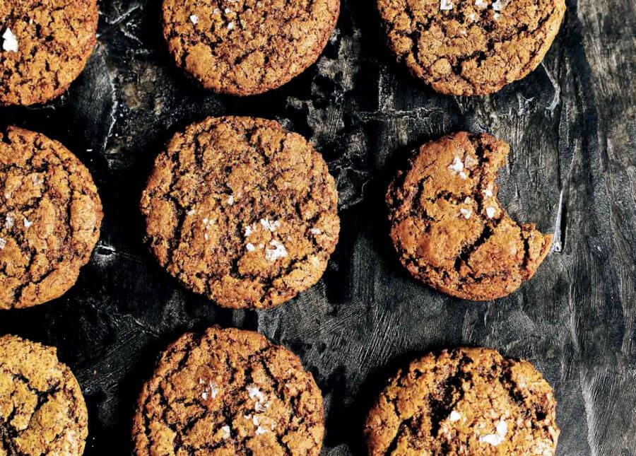 Coconut Sweetened Peanut Butter Cookies