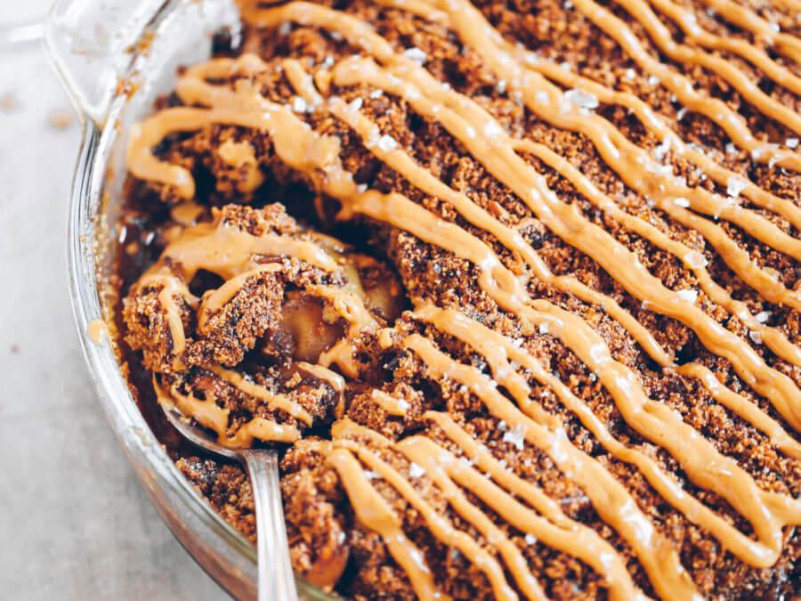 Grain Free Paleo Apple Pie Crisp