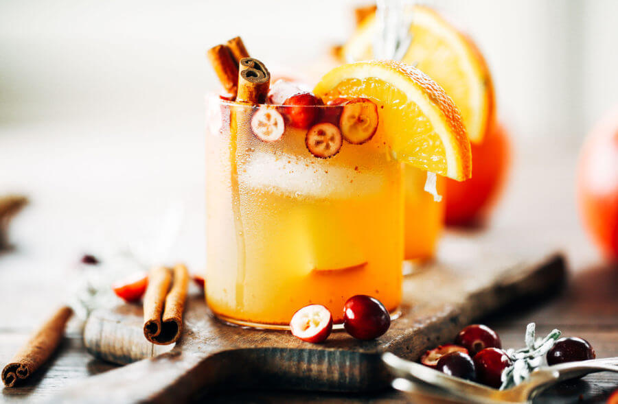 Sparkling Ginger Aid Apple Punch (Sugar Free)
