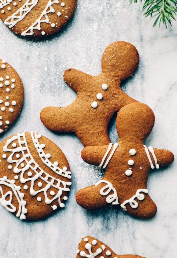 Easy Paleo Gingerbread Cookie Recipe - Paleo Gluten Free Eats