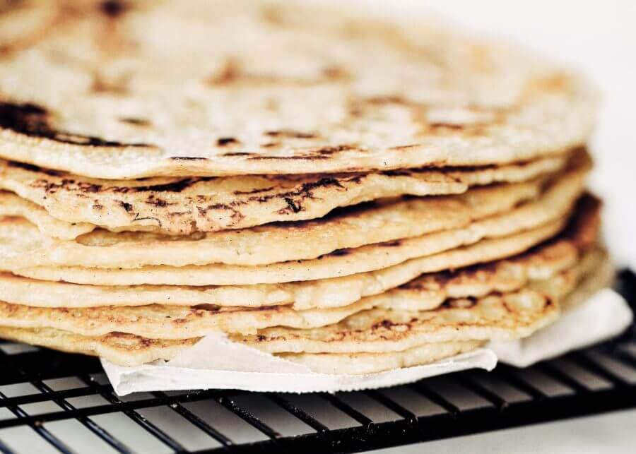 Blender Almond Flour Paleo Tortillas