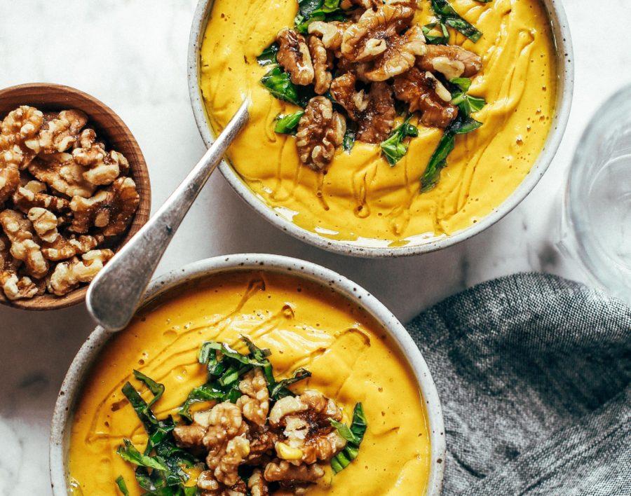 Golden Turmeric Vegetable Soup