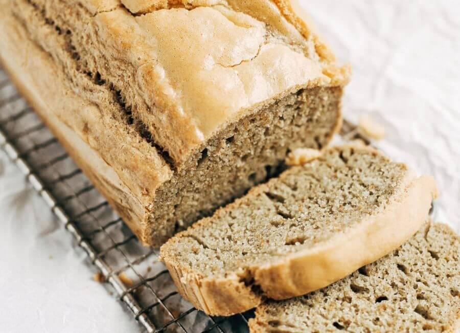 Healthy Paleo Gluten Free Sandwich Bread