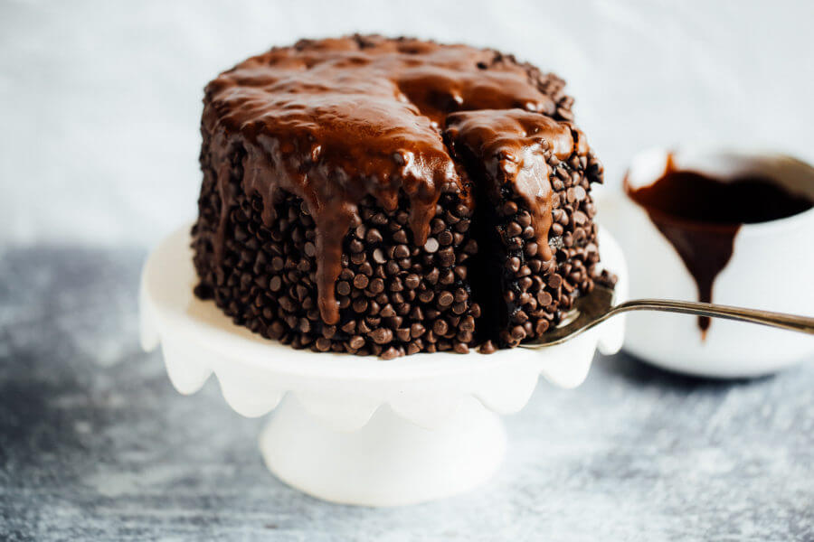 Blackout Healthy Paleo Chocolate Cake