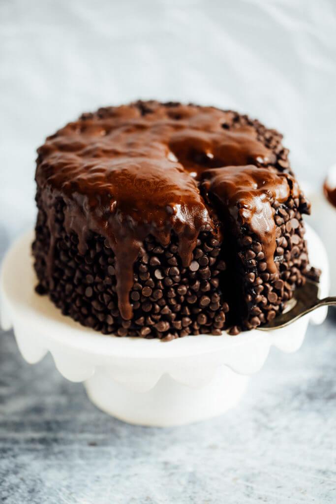 Easy Vegan German Chocolate Cake