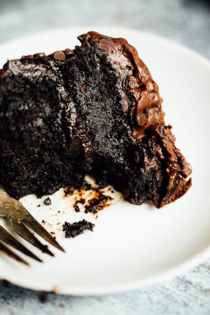 Quinoa Flour Chocolate Cake Recipe