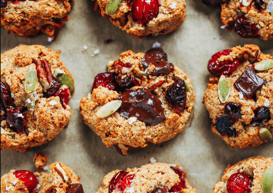 Paleo Almond Flour Kitchen Sink Cookies