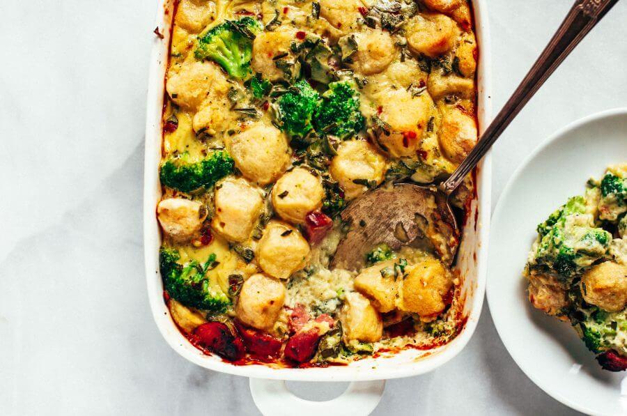 Cauliflower Gnocchi Paleo Casserole