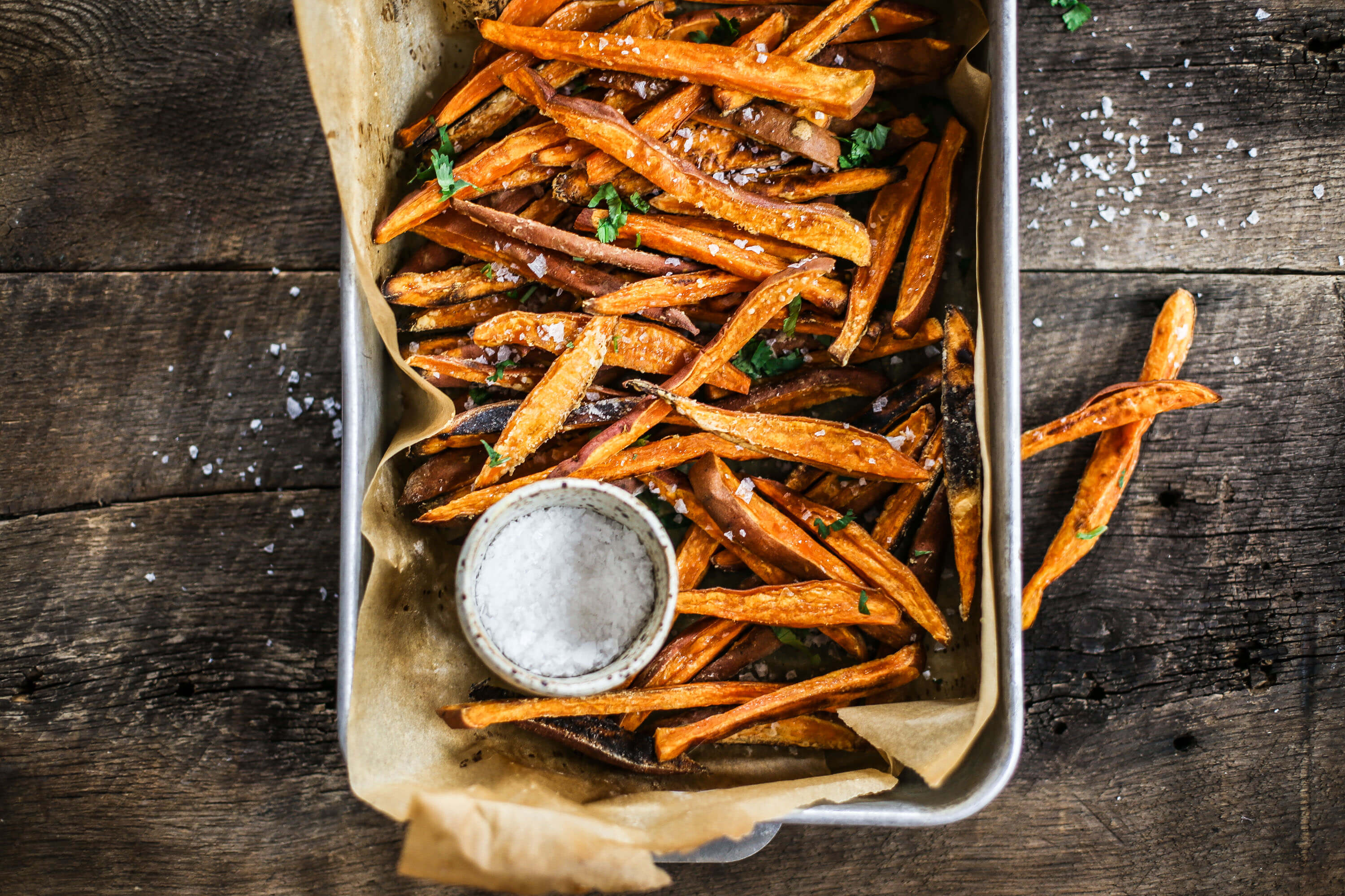 How to make sweet potato fries from scratch