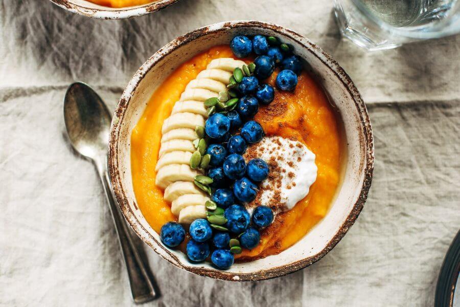 Paleo Butternut Squash Breakfast Bowl