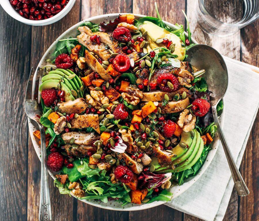 Whole30 Harvest Chicken Salad