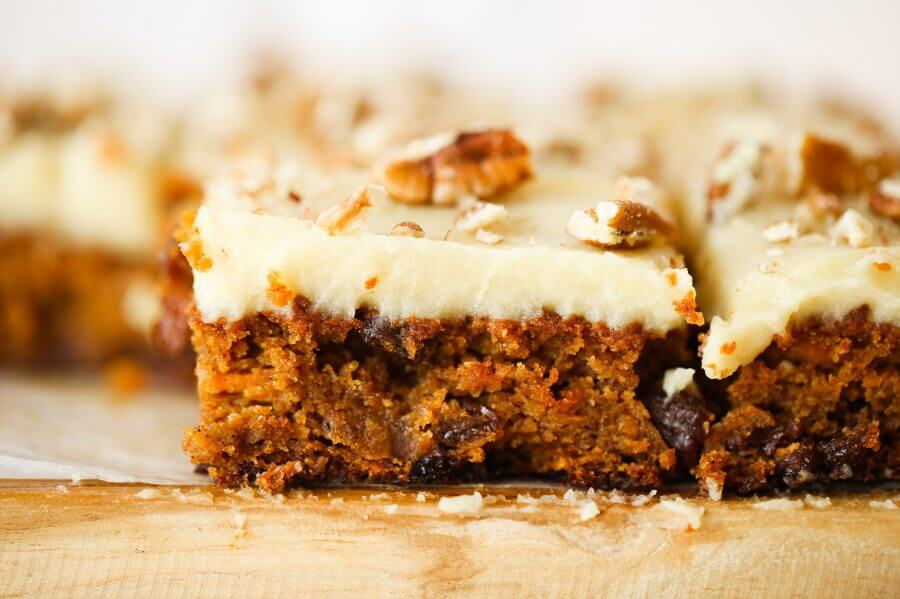 Paleo Sweet Potato Carrot Cake