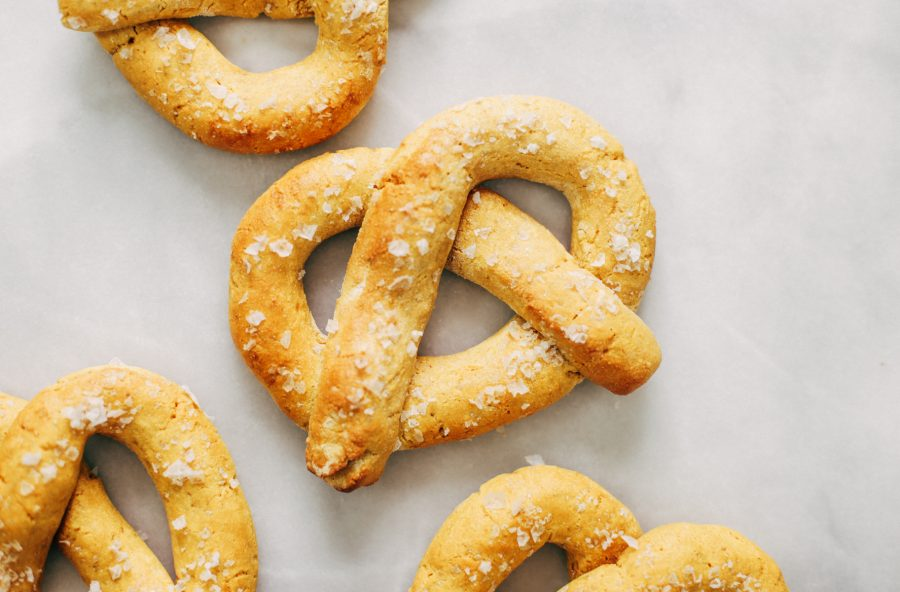 Paleo Pretzels Made With Sweet Potato