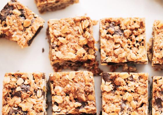 Gluten-Free Chocolate Crumble Bars
