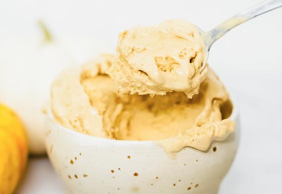 Dairy-Free Maple Pumpkin Ice Cream
